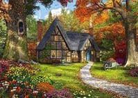 The Woodland Cottage 2 x 1000 Pieces  Yorkshire Jigsaw Store